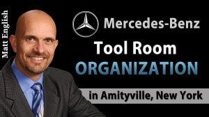 Mercedes-Benz Tool Room Organization