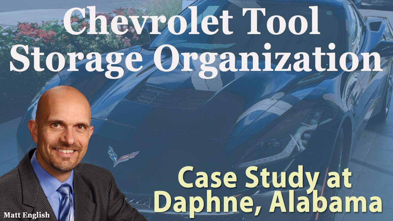 Chevrolet Tool Storage Organization - 888.245.0050 - GM Tool Storage Inventory