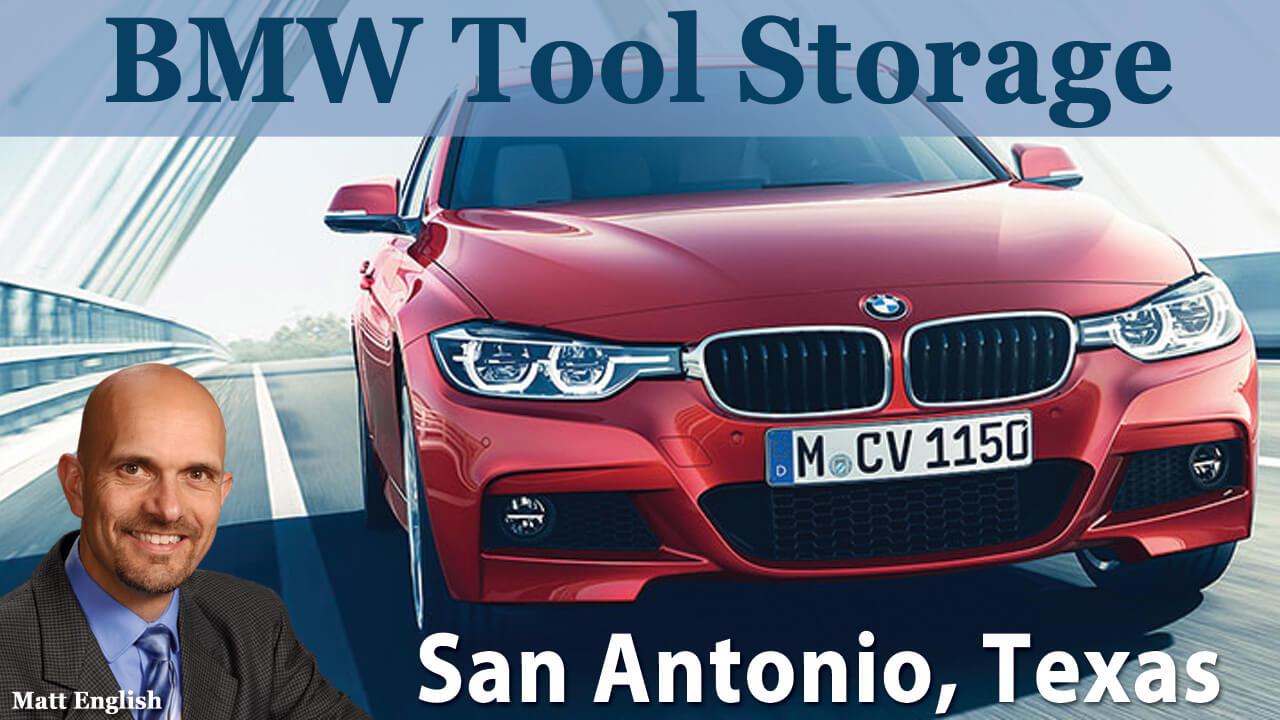 BMW Tool Storage