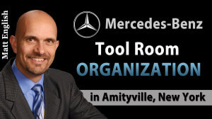 Mercedes-Benz Tool Room Organization