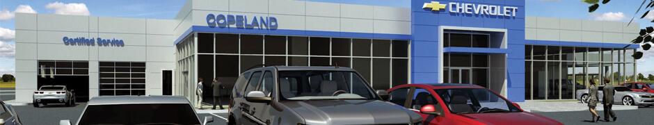 Copeland Chevrolet Exterior Rendering