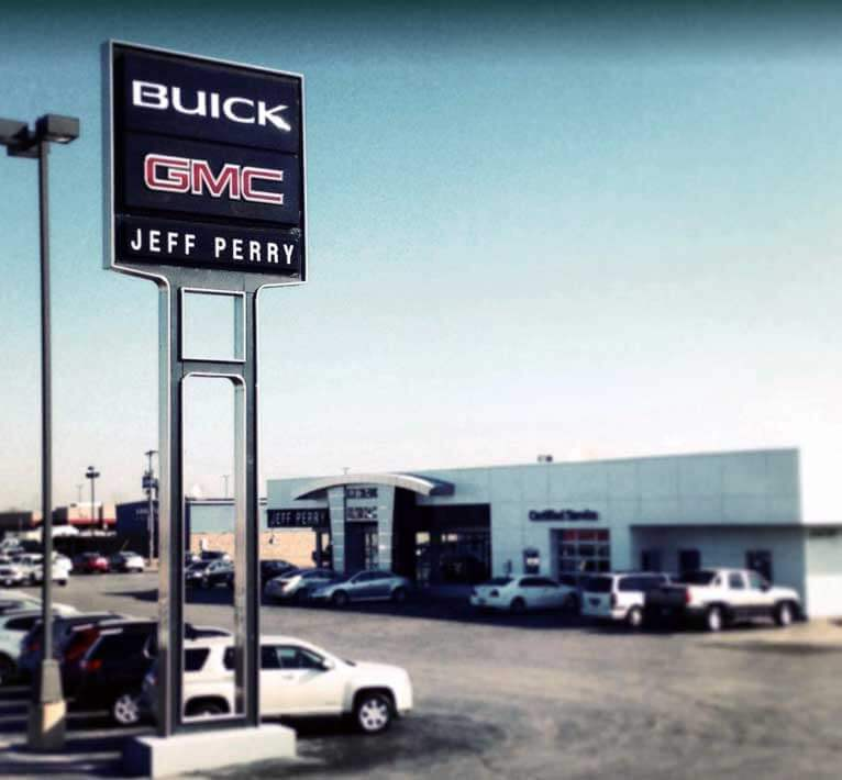 Jeff Perry Buick GMC - Front Sign