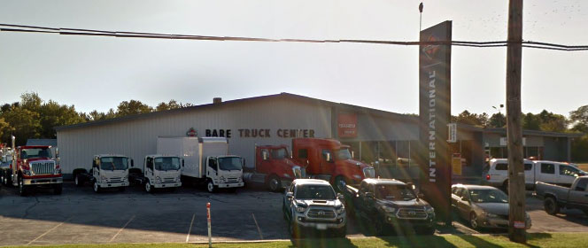 Outside view of Bare Truck