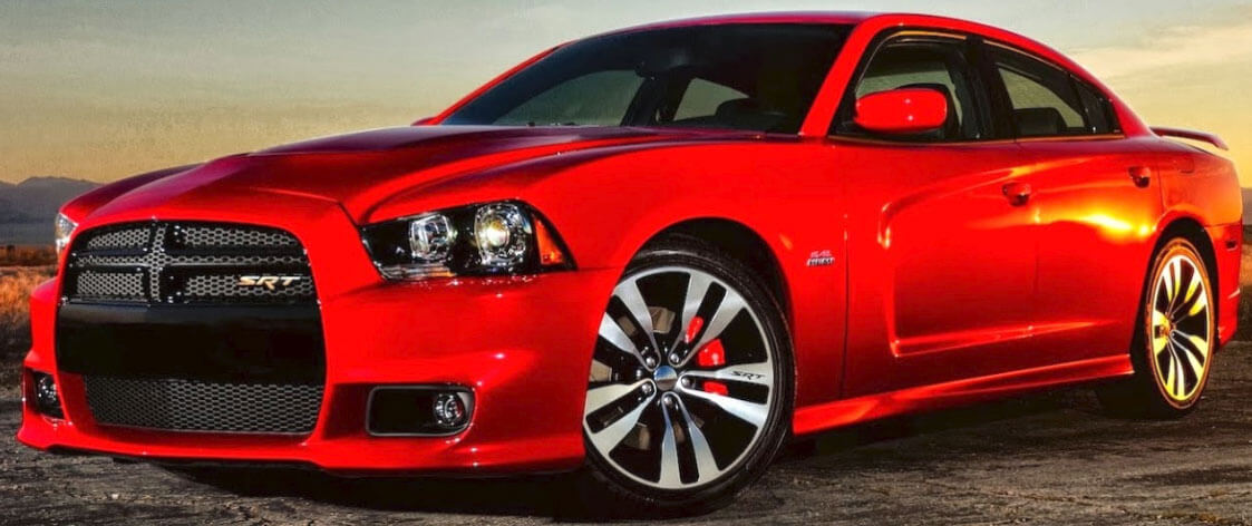 Photo of Red Dodge SRT