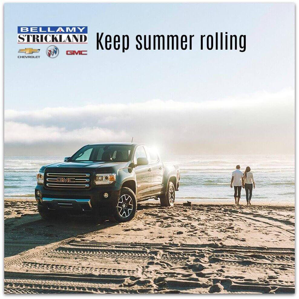 Chevy Truck on Beach