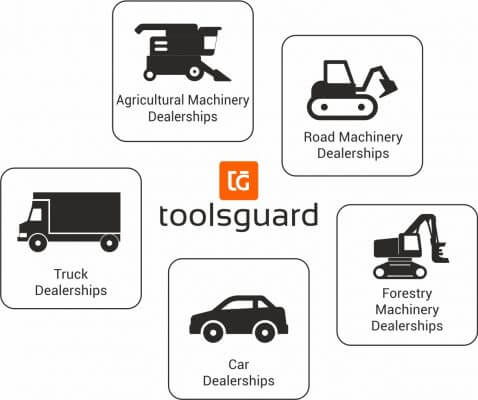 Icons of dealerships toolsguard can be implemented for
